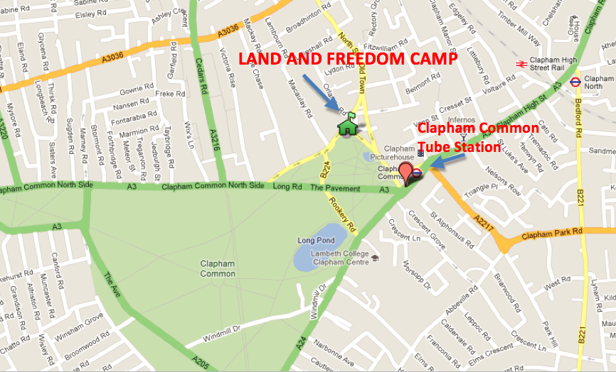 Land and Freedom Camp 18/09/2011